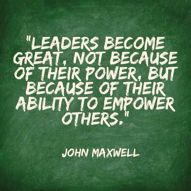 jon maxwell empower others